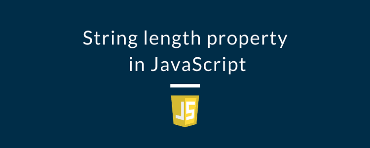 String length property in JavaScript