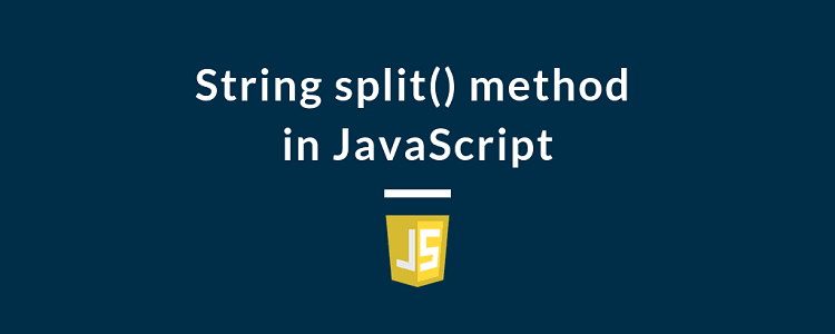 String split() method in JavaScript
