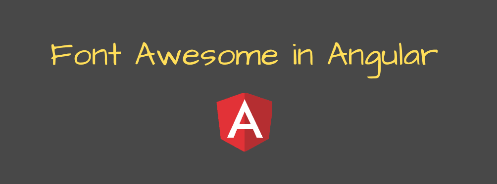 How to install Font Awesome in Angular