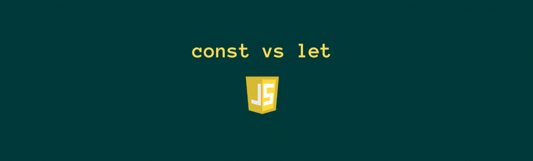 Difference between const vs let